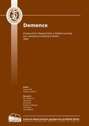 Demence - www.svl.cz - Společnost všeobecného lékařství