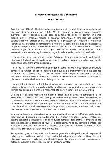 CassiRomaMedicoprofessionistadirigente2012 - ANPO