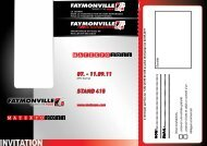07. - 11.09.11 Stand 415 - Faymonville