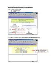Manual Pengisian Borang Secara Online
