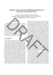 Draft paper - Data to Insight Center - Indiana University