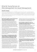 Risk Management for Asset Management Ernst & Young Survey 2010 - Page 5