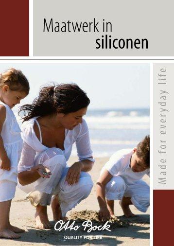 siliconen producten brochure - Voorvoetamputatie