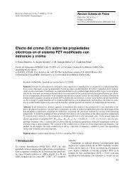 Efecto del cromo (Cr) sobre las propiedades eléctricas en el sistema ...