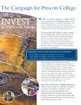 Invest in Experience Brochure Read more about ... - Prescott College - Page 3