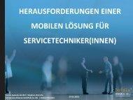 """Auch bei einer """"mobilen Lösung"""" - eEvolution® Konferenz"""