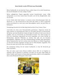 Bericht Nr. 1 - Gerold Reichenbach