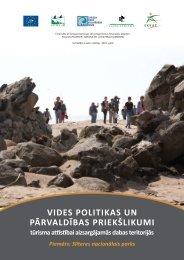 Vides politikas un pārvaldības priekšlikumi tūrisma ... - Lauku Ceļotājs