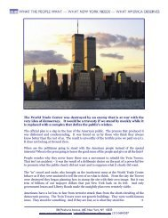 why it matters — pass it on - The Twin Towers Alliance