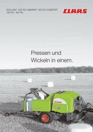 rollant 355/uniwrap - Kaufmann Landtechnik GmbH