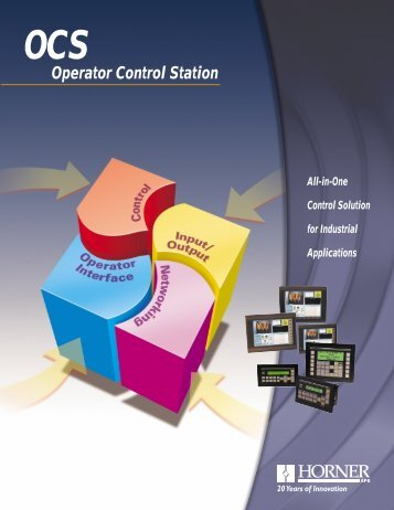 Operator Control Station - Adcon Engineering Co