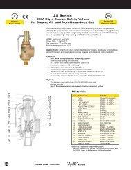 Technical Sheet - 29 Series