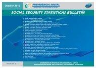 SOCIAL SECURITY STATISTICAS BULLETIN - Ministério da ...