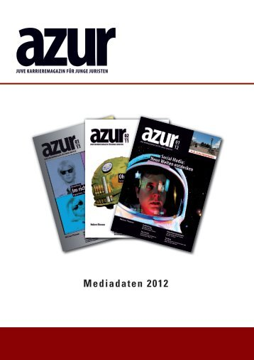 Mediadaten 2012 - JUVE