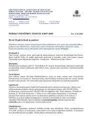 PIIRIKUVERNÖÖRIN TIEDOTE 8/2007-2008 Hyvät M-piirin lionit ja ...