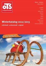 Winterkatalog 2012/2013