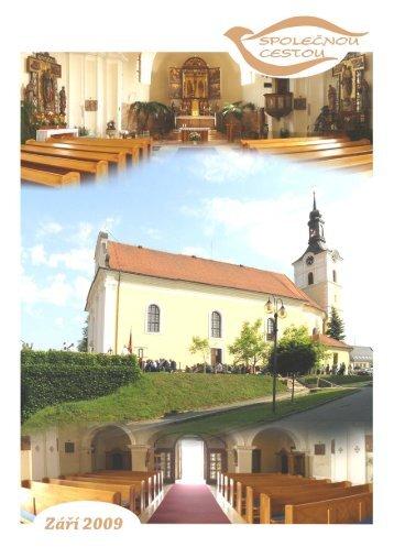 září - Římskokatolická farnost Olešnice