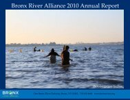 Bronx River Alliance 2010 Annual Report