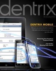 Dentrix Magazine Volume 22 Issue 2 — Summer 2010