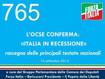 765-LOCSE-CONFERMA-ITALIA-IN-RECESSIONE.-RASSEGNA-DELLE-PRINCIPALI-TESTATE-NAZIONALI
