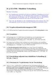 24. § 112 GWB - Mündliche Verhandlung - Oeffentliche Auftraege