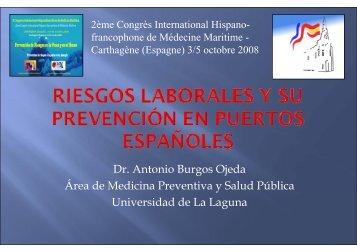 Dr. Antonio Burgos Ojeda Área de Medicina Preventiva y ... - SEMM