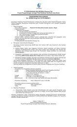 Tbk. Proyek Pengembangan Jaringan Pipa Distribusi Gas ... - PGN