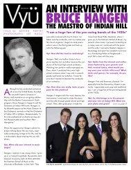 BRUCE HANGEN - Vyu Magazine