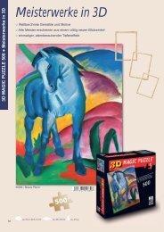 Meisterwerke in 3D - King Cards