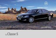La Classe S - Mercedes-Benz Automobil AG