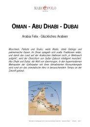 Oman-Abu Dhabi-Dubai - Studiosus