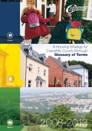 Local Housing Strategy 2008-2013 - glossary of terms