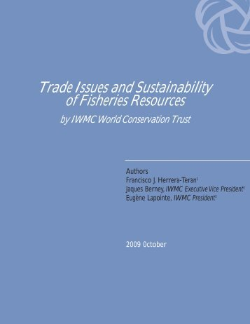 Trade Issues and Sustainability of Fisheries Resources