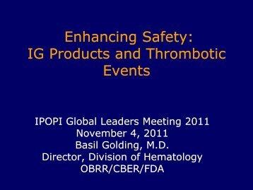 Dr. Basil Golding - Ipopi