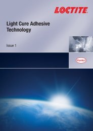 Light Cure Adhesive Technology - Henkel Content Management ...