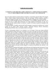 comunicato stampa il sistema sanitario dell'emilia romagna a pieno ...