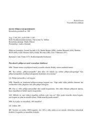 Põhjaveekomisjoni koosoleku protokoll nr 100