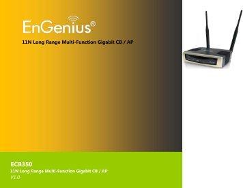 ECB350 User Manual - EnGenius Technologies