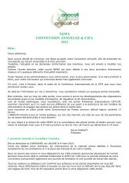 anacofi news ag et cifa 2012