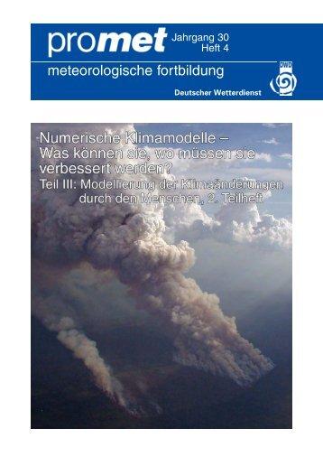 Institute stellen sich vor - Deutsche Meteorologische Gesellschaft eV ...