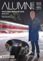 THE GLOBAL REACH OF UTAS Special issue - University of ...