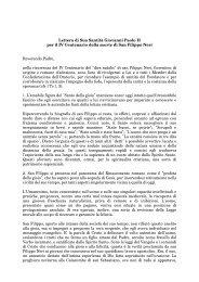 Stampa la lettera in formato PDF - Confederazione dell'Oratorio di ...