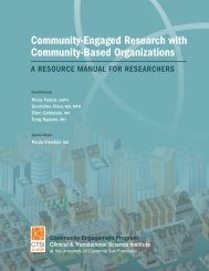 Community-Engaged Research with Community-Based ... - Accelerate