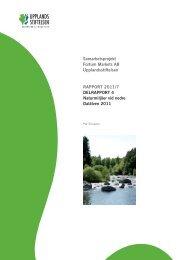 2011_7 Fortumprojekt Delrapport 4 - Upplandsstiftelsen