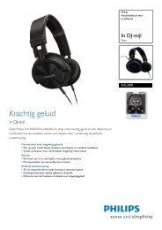 SHL3000/00 Philips Hoofdtelefoon met hoofdband - Icecat.biz