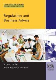 Regulation and Business Advice - Dius.gov.uk