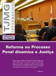 Informativo Agosto 130.qxp - Tribunal de Justiça de Minas Gerais