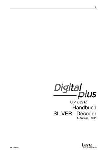 Handbuch SILVER– Decoder