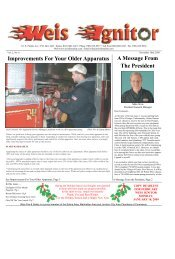 The Weis Ignitor Layout November 11-10 - Weis Fire & Safety ...