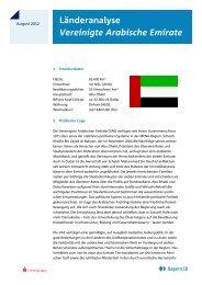 Länderanalyse Vereinigte Arabische Emirate - IHK Schwaben